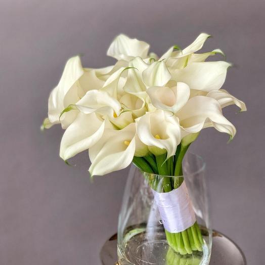 """Букет невесты  """"Ванильное пламя"""": букеты цветов на заказ Flowwow"""