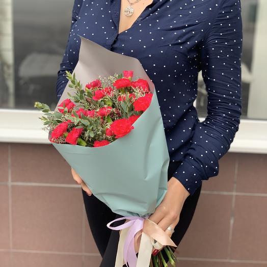 Миссис гвоздичка: букеты цветов на заказ Flowwow