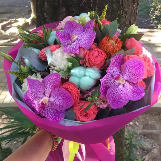 Букет «Радужный»: букеты цветов на заказ Flowwow