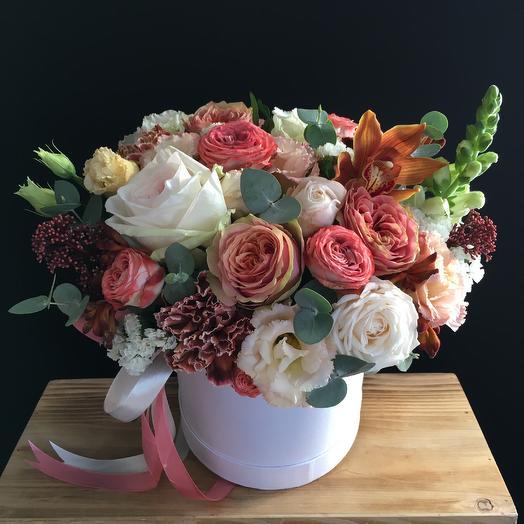 Осеняя коробочка -2: букеты цветов на заказ Flowwow