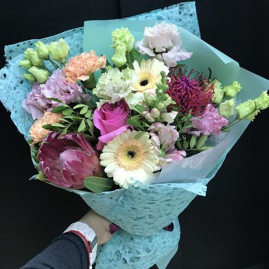 Букет с эмоциями: букеты цветов на заказ Flowwow