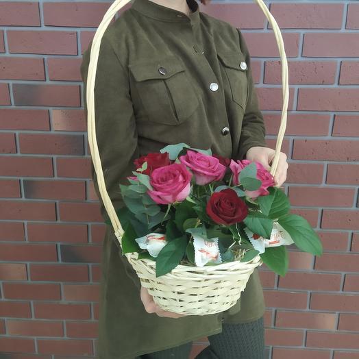 Радость и сладость: букеты цветов на заказ Flowwow
