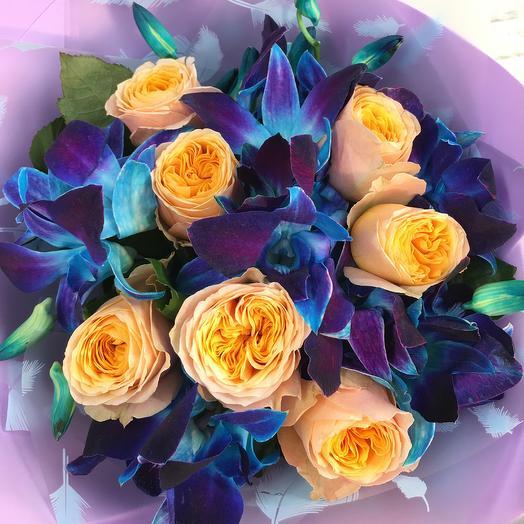 Солнечный поцелуй💕️️️: букеты цветов на заказ Flowwow