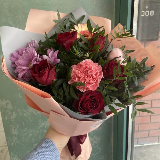Приятный сюрприз💐: букеты цветов на заказ Flowwow
