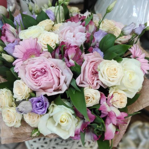 Букет авторский: букеты цветов на заказ Flowwow