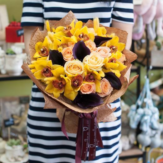 Букет цветов Манго