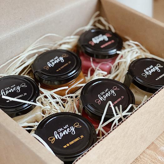 Подарочный набор крем-мёда «Сладкая Жизнь»