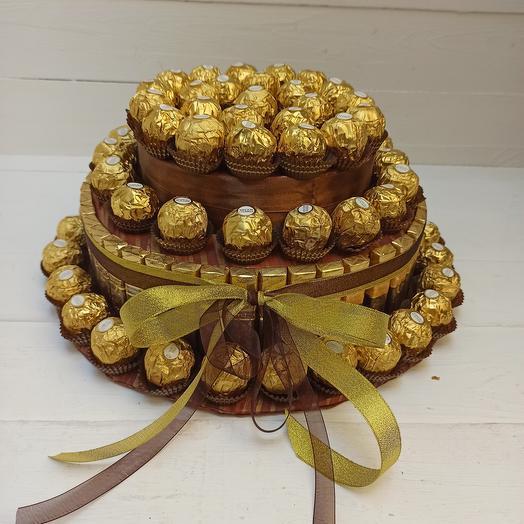 Золотой торт