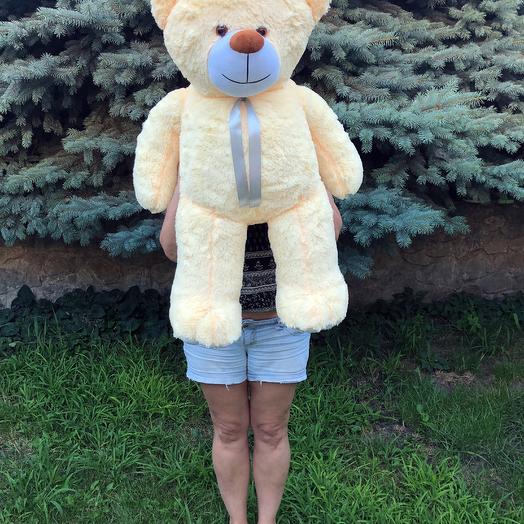 Плюшевий ведмедик 100 см персиковий