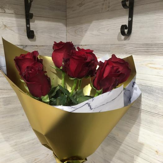 «Бургундия» Комплимент из роз