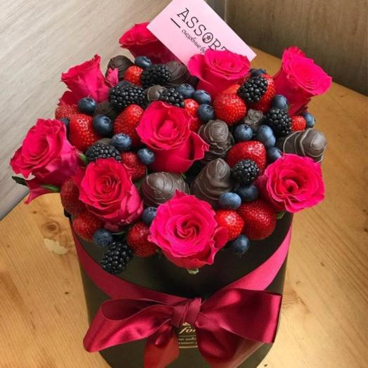 Шляпная коробочка «Подарок»