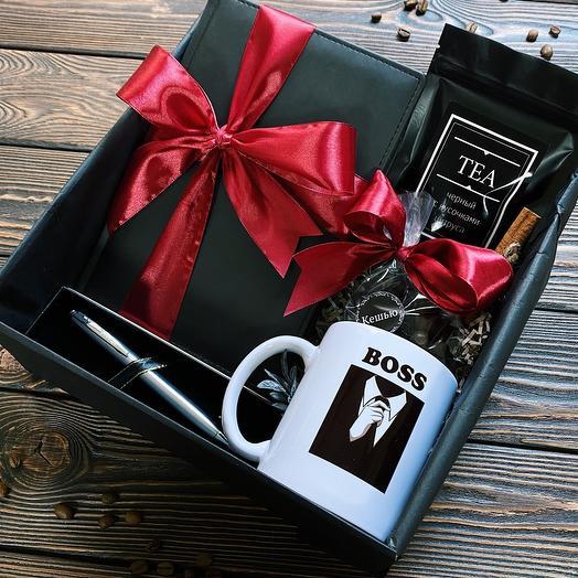 Подарок мужчине «Boss»