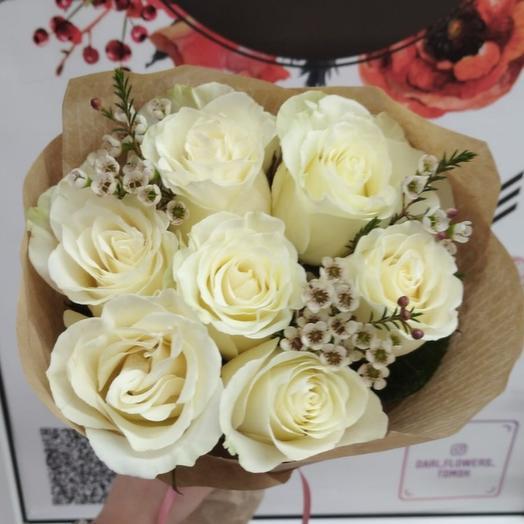 7 роз с ваксфлавером