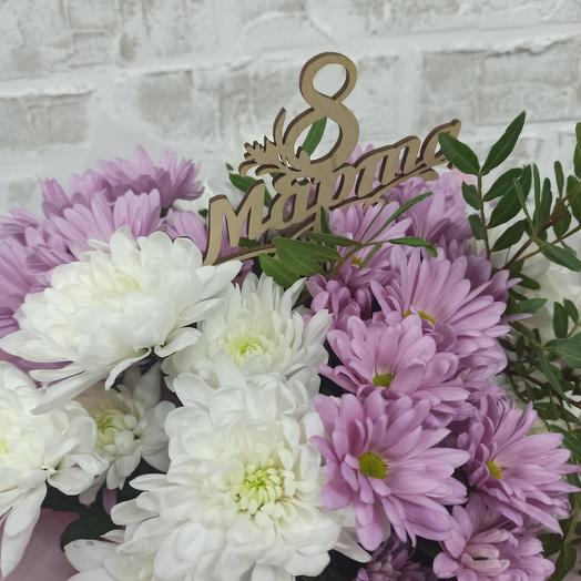 Нежная хризантема