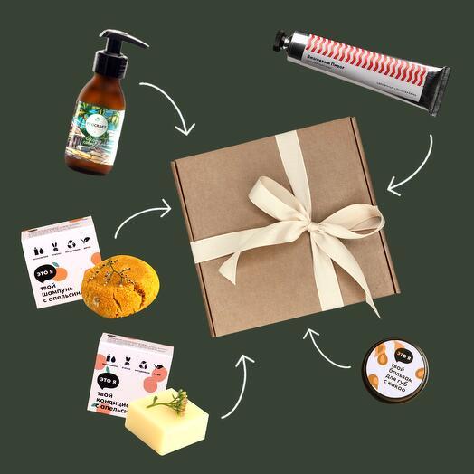 Подарочный набор: для тела и волос, Aroma   Care