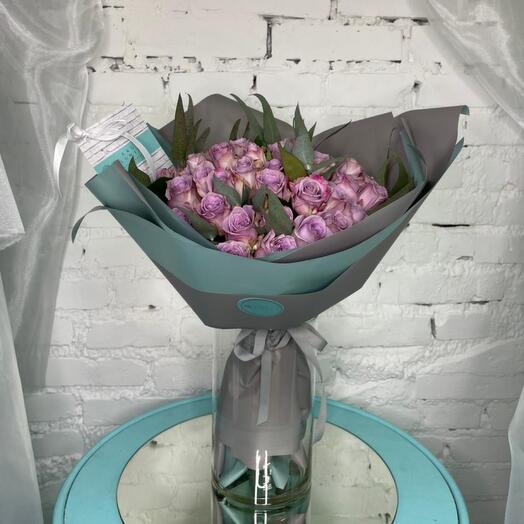Розы Кения 49 штук