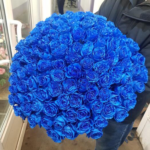 Синияя роза