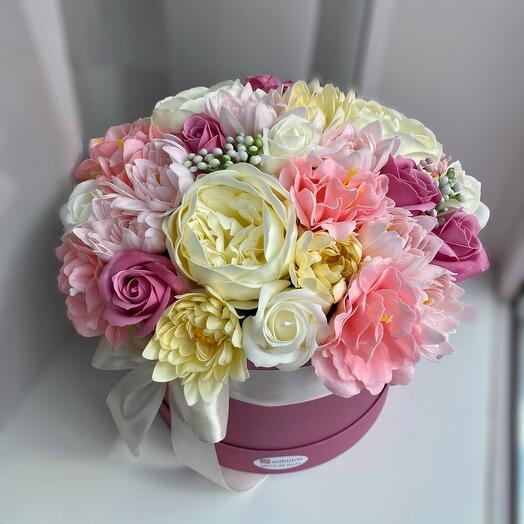 Микс мыльных цветов ароматный букет