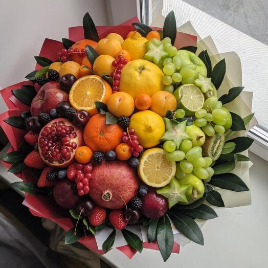 Букет из фруктов Радуга 🌈
