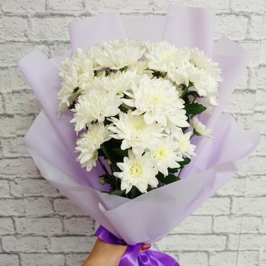 Хризантемы белые