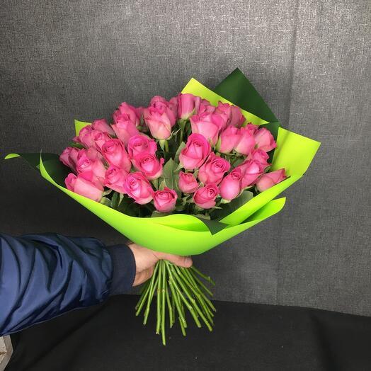 Роза кенийская 40см (51шт