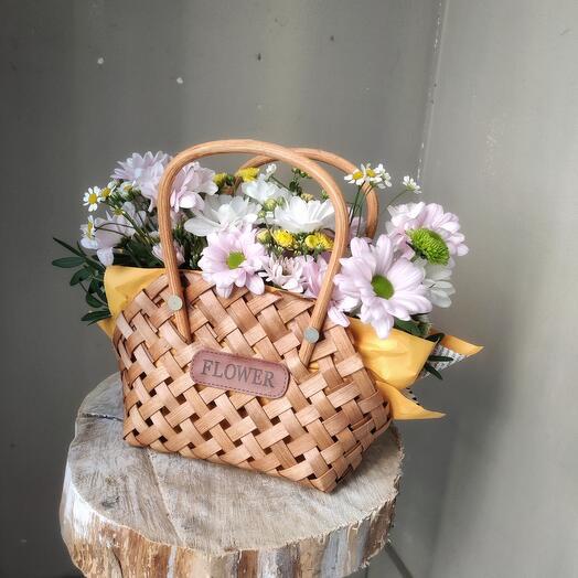Сумочка с цветами