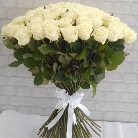 Шикарные Белые Розы