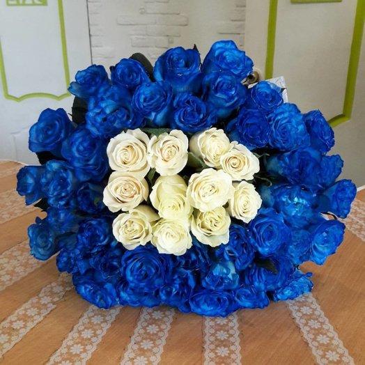 Контрастный: букеты цветов на заказ Flowwow