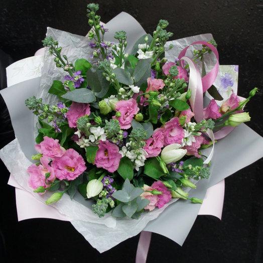 Lavender mattiola: букеты цветов на заказ Flowwow