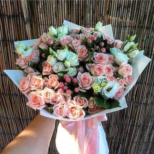 """Букет из кустовых  роз """"Микс""""5"""