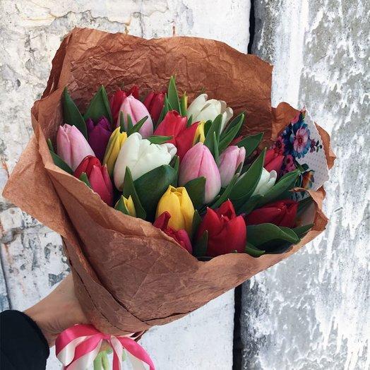 Взрыв красок: букеты цветов на заказ Flowwow