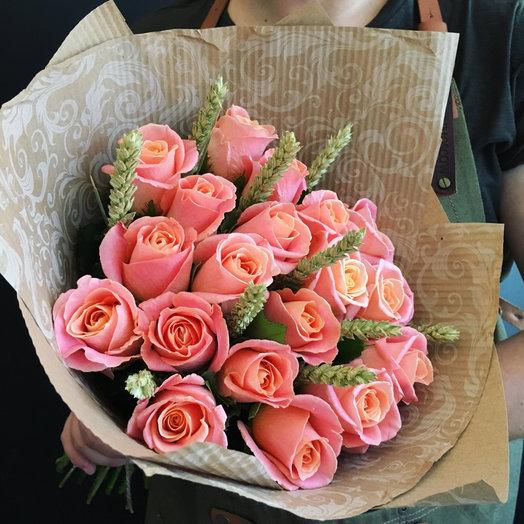 Роза с колосками