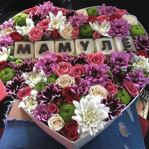 Яркий микс для мамы: букеты цветов на заказ Flowwow