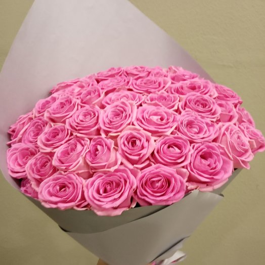 """""""Розовая бомба"""": букеты цветов на заказ Flowwow"""