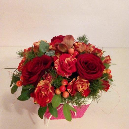 Сочная осень: букеты цветов на заказ Flowwow