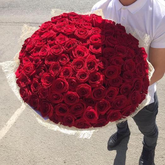 Красная Роза (70 см)