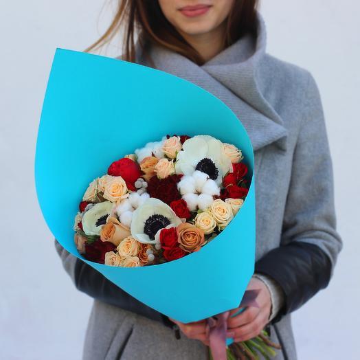 Букет 01: букеты цветов на заказ Flowwow