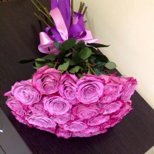 Букет роз Моби Блюю
