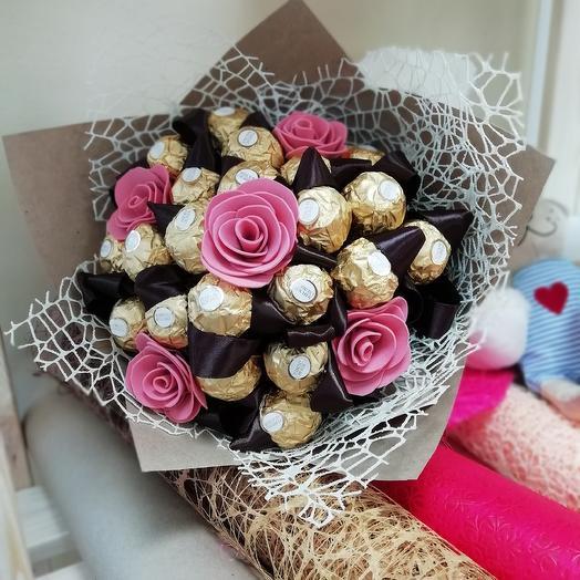 Букет из конфет: букеты цветов на заказ Flowwow