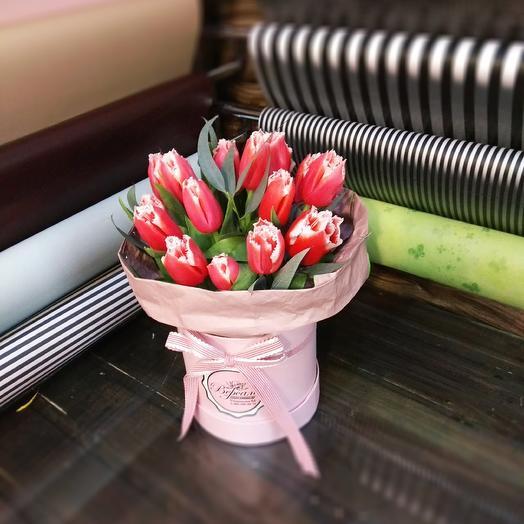 Розово-белое: букеты цветов на заказ Flowwow