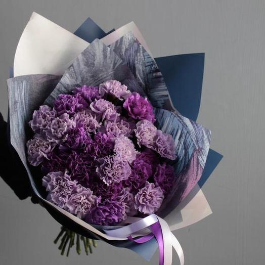 Гвоздики 39 штук: букеты цветов на заказ Flowwow