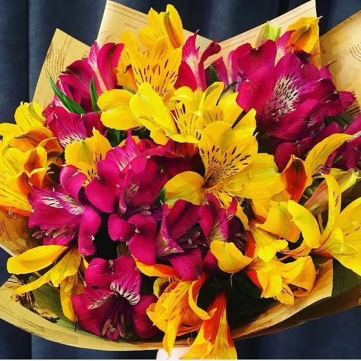 Тропический микс: букеты цветов на заказ Flowwow