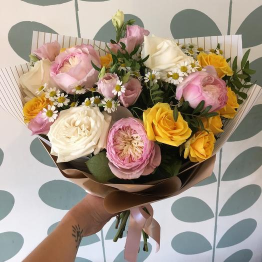 Праздничный летний: букеты цветов на заказ Flowwow