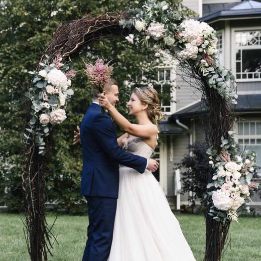 Свадебное оформление «номер 1»: букеты цветов на заказ Flowwow