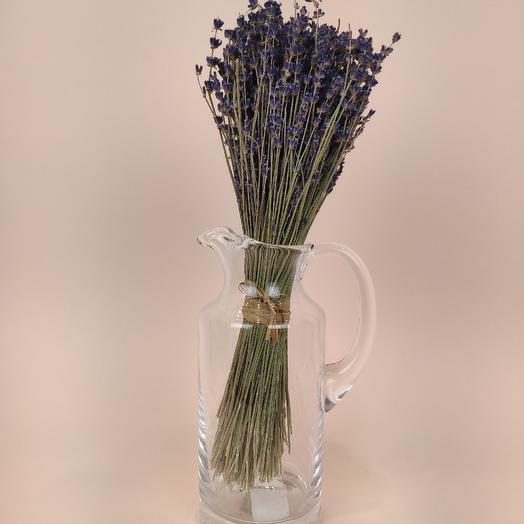 Лаванда в графине: букеты цветов на заказ Flowwow