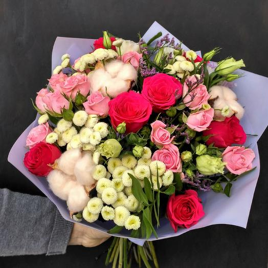 "Букет ""Утренний Париж"": букеты цветов на заказ Flowwow"