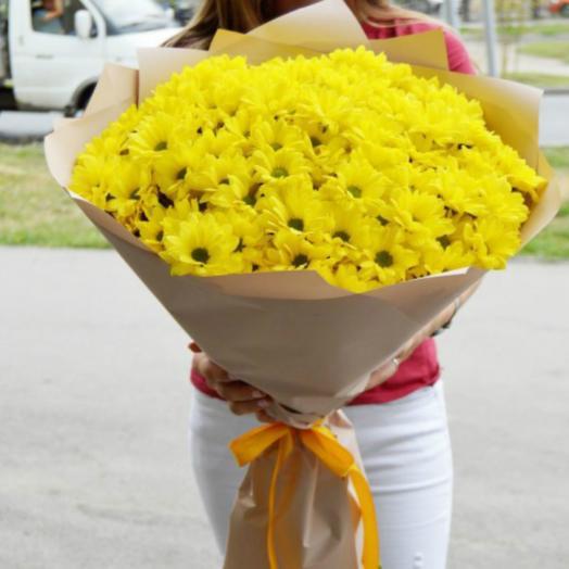 A bouquet of chrysanthemums 12