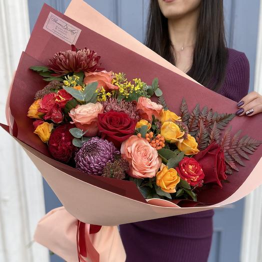 Осенний гигант: букеты цветов на заказ Flowwow