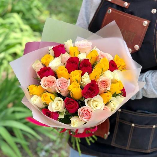 Букет 51 роз кения