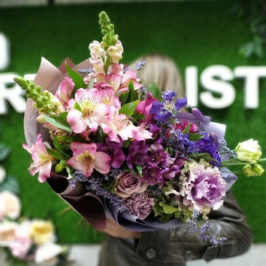 Иней на закате: букеты цветов на заказ Flowwow